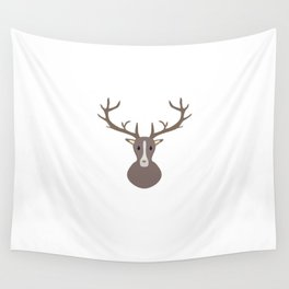 Stag head Wall Tapestry