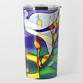 Shalom Peace Dove Travel Mug