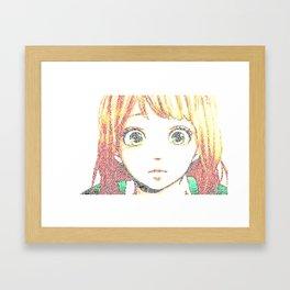 Naho Takayina - Orange Framed Art Print