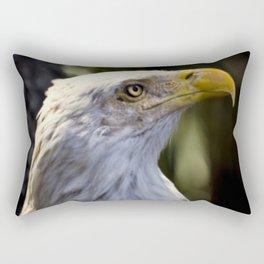 Proud Bald Eagle Rectangular Pillow