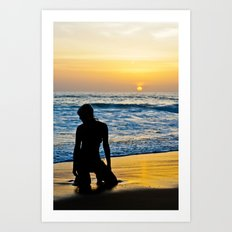 Phuket Sunset Art Print