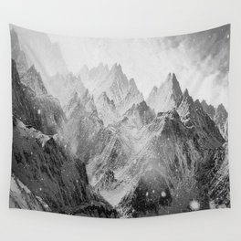 Snow Mountain Wall Tapestry