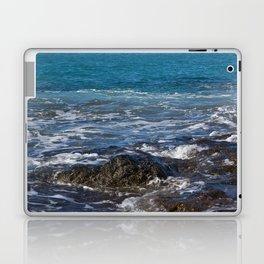 rock in the waves Laptop & iPad Skin