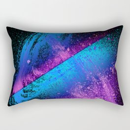 Vivid Spray Paint Galaxy Style Rectangular Pillow