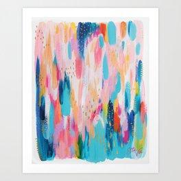 Brushstrokes no.16 Art Print
