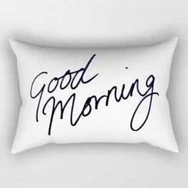 Good Morning! Rectangular Pillow