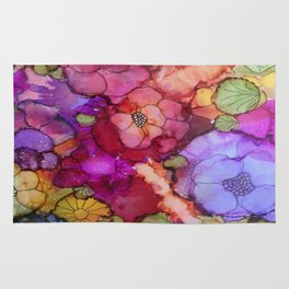 L and L Flower Explosion Rug