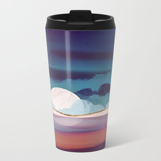 Red Sea Metal Travel Mug