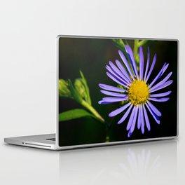 Blue Wildflower Laptop & iPad Skin