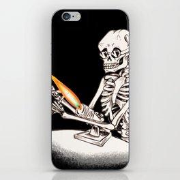Skelly Flamerworker iPhone Skin