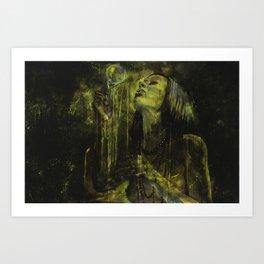 OVRLVD (over loved) Art Print