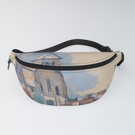 Church at Montigny-sur-Loing Fanny Pack