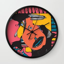 Deadend Smile Wall Clock