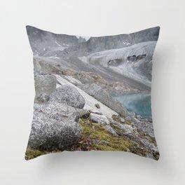 AK Pennyroyal Glacier Throw Pillow