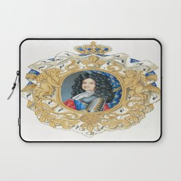 King Louis XIV Laptop Sleeve