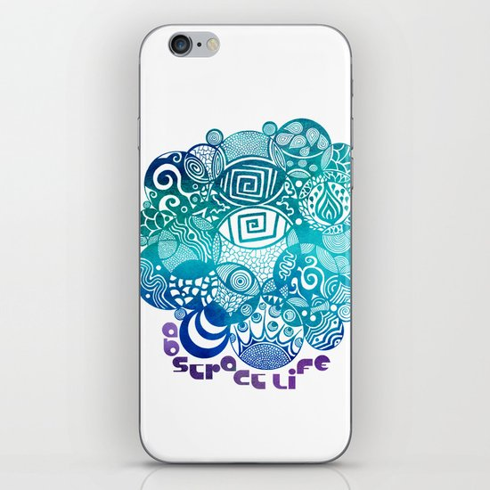 Abstract Life iPhone & iPod Skin