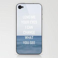 Awake My Soul iPhone & iPod Skin