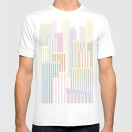 Skyscrapers, I love you T-shirt