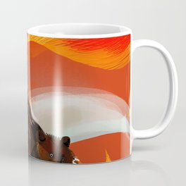 Taiga on fire Coffee Mug