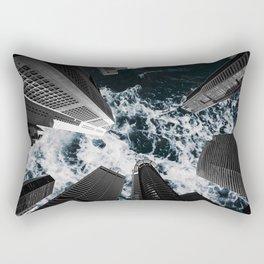 Sky is Rough Rectangular Pillow