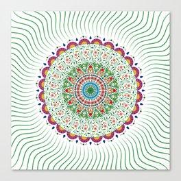 BOHEMIAN MANDALA CIRCLE DESIGN Canvas Print