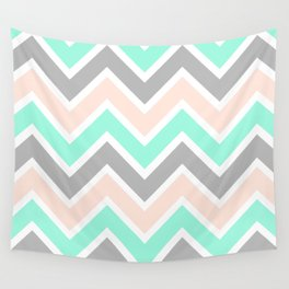 MUTED CHEVRON Wall Tapestry
