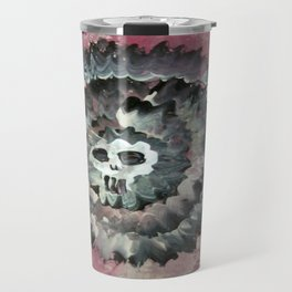SKULL FLOWER 2 Travel Mug