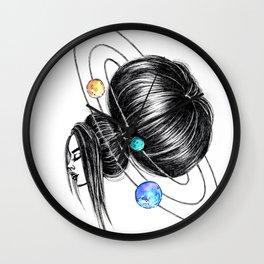 GIRLZ - SPACE Wall Clock