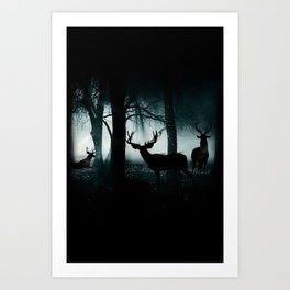 Guardians of the Forest Art Print