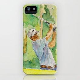 Jordan Spieth Pro Golfer iPhone Case