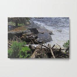 The Edge of Courage Metal Print