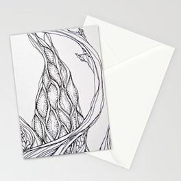 Cellular Structure Stationery Cards