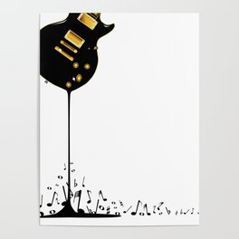Flowing Music Poster