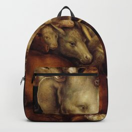 "Giuseppe Arcimboldo ""Four elements - Earth"" Backpack"
