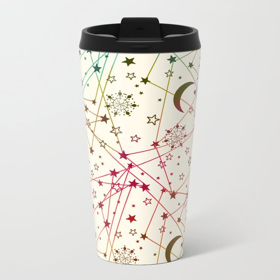 Galaxy Metal Travel Mug