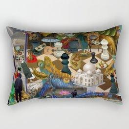 The Battlefield Rectangular Pillow