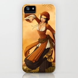 Lotus Dancer iPhone Case