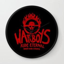War Boys Wall Clock