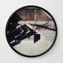 joinery Wall Clock