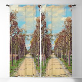 walk straight ahead Blackout Curtain