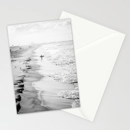 Morning Surfer Manhattan Beach Stationery Cards