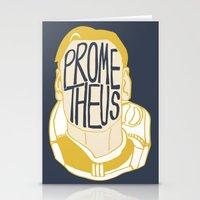prometheus Stationery Cards featuring Prometheus by SleptAwoke