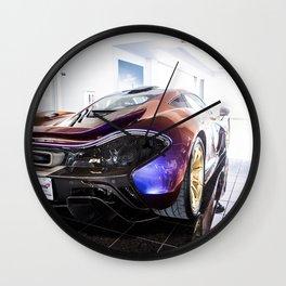 McLaren P1 - Cerberus Pearl - Rear Angle Right Wall Clock