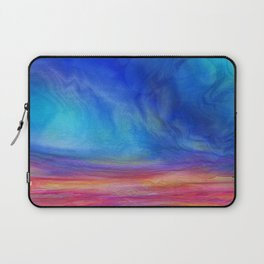 Saturated Land Laptop Sleeve