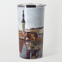 Historic Tallinn, Estonia Travel Mug
