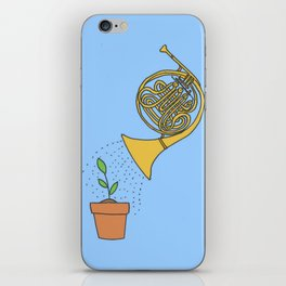 Watering Horn iPhone Skin