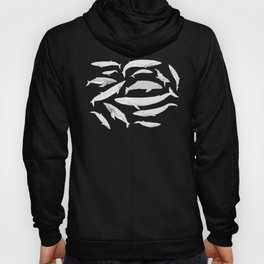 Whales of the world Hoody