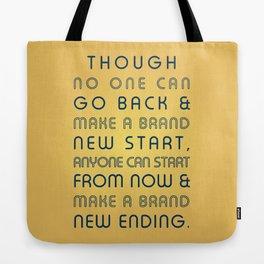Brand New Ending Tote Bag