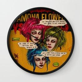 FUTURE EVIL EX-GIRLFRIEND Wall Clock