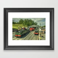 Bridgnorth Depot Framed Art Print
